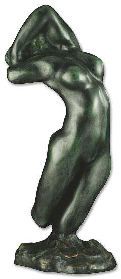 """Skulptur """"Torso der Adele"""" (Reduktion), Kunstguss"""