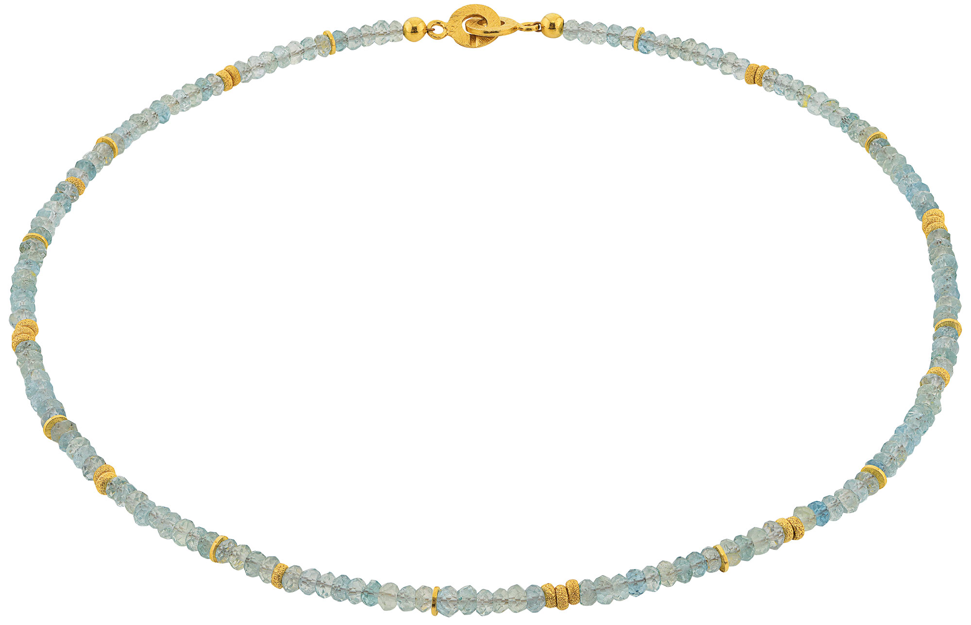 """Collier """"Ice Blue"""""""