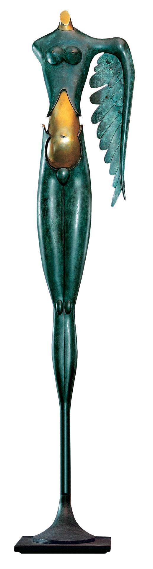 """Skulptur """"Große Nike"""", Bronze"""