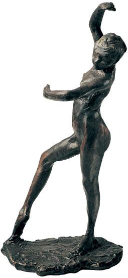 """Skulptur """"Spanische Tänzerin"""", Version in Kunstbronze"""