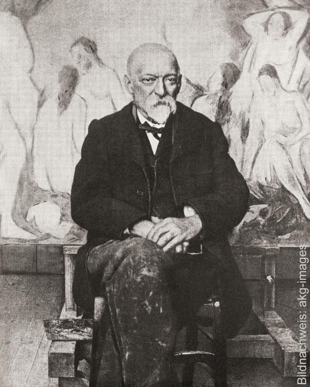 Porträt des Künstlers Paul Cézanne