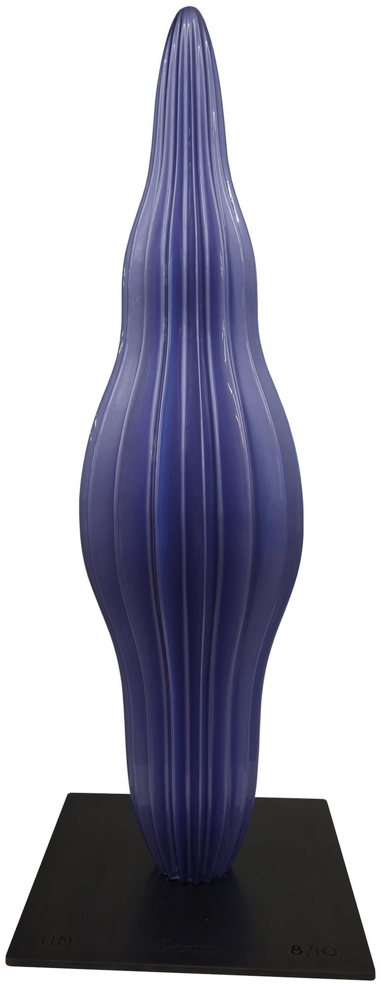 """Skulptur """"Cipresso Alu, purple"""" (2016)"""