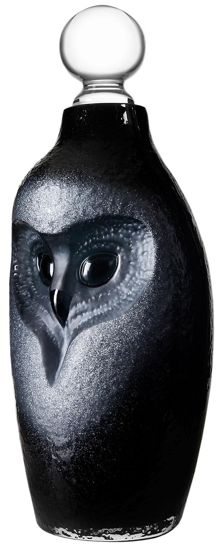 """Glaskaraffe """"Owl - Eule"""""""