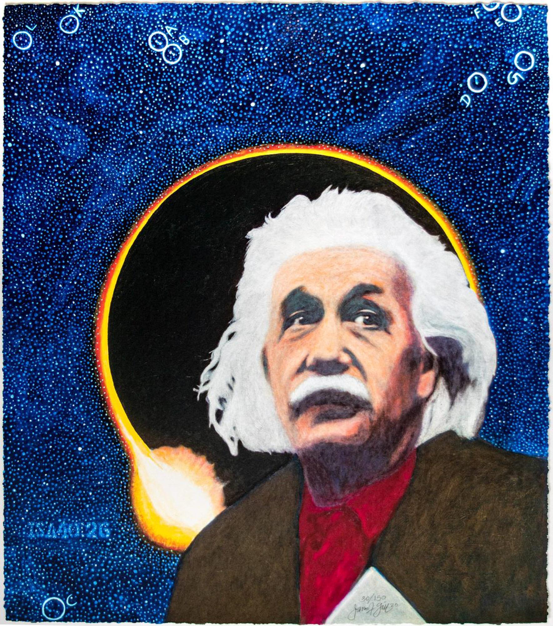 """Bild """"Einstein"""" (2020)"""
