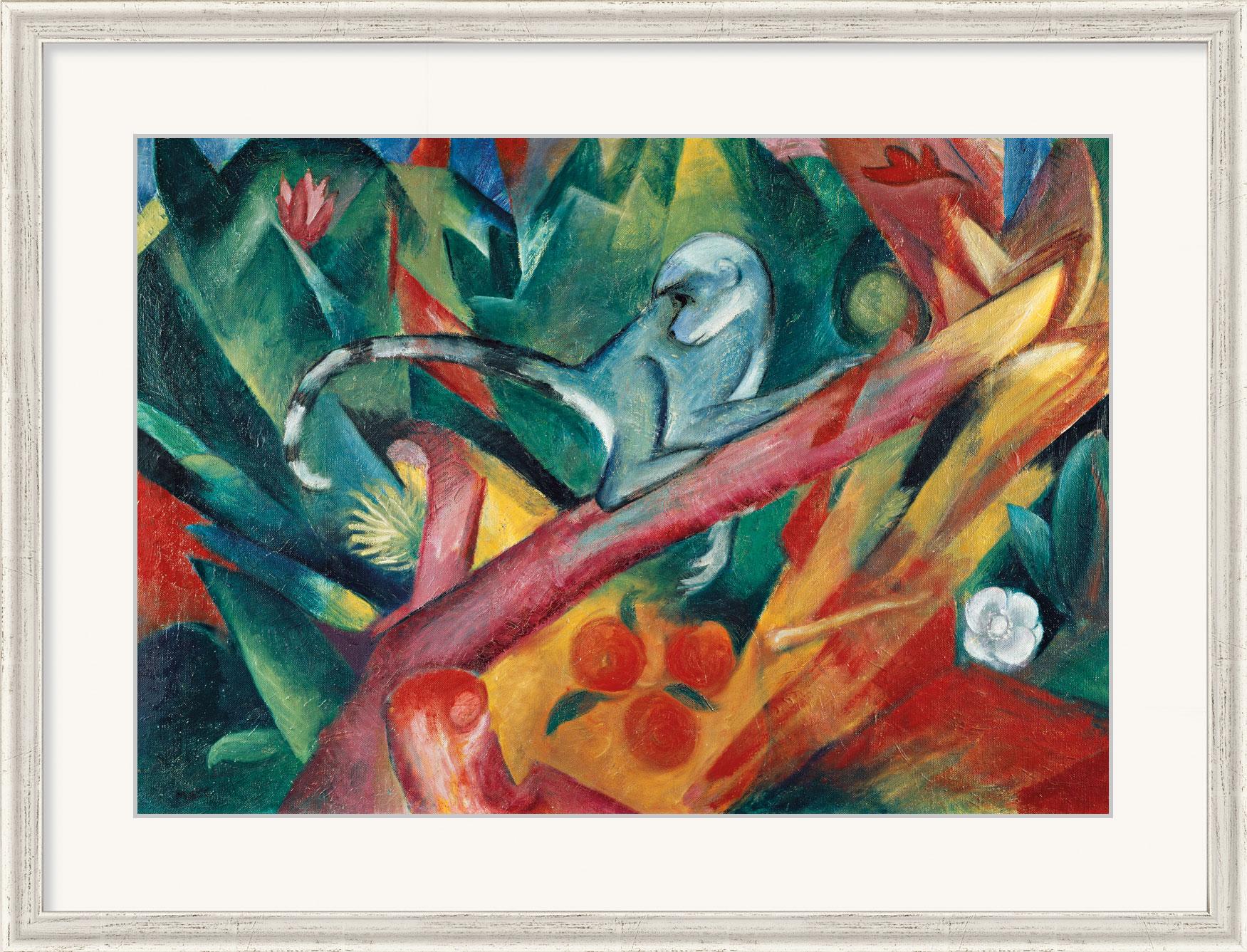 """Bild """"Das Äffchen"""" (1912), gerahmt"""