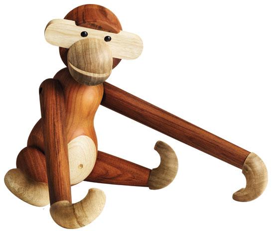 "Holzfigur ""Affe"" (klein, Höhe 20 cm)"