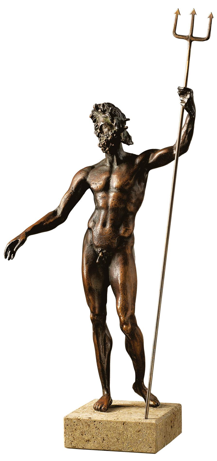 """Skulptur """"Poseidon"""""""