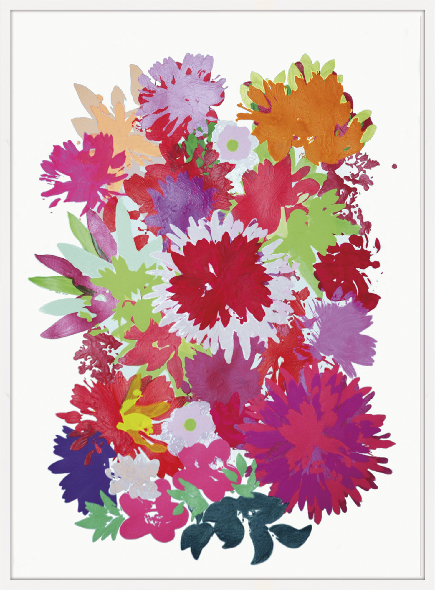 "Bild ""Blossom Red"" (2012) (Unikat)"