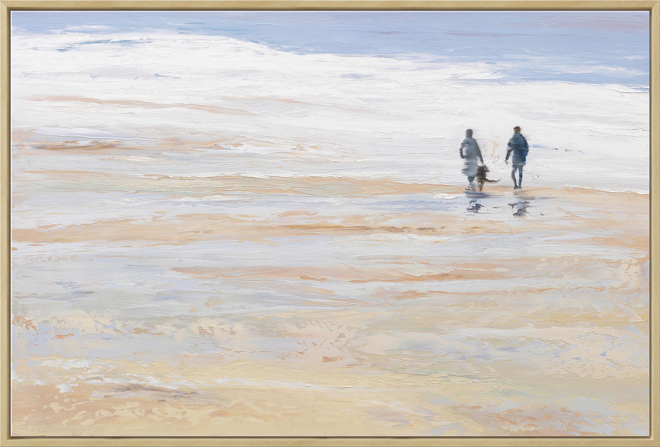"""Bild """"Das rauschende Meer"""" (2016), gerahmt"""