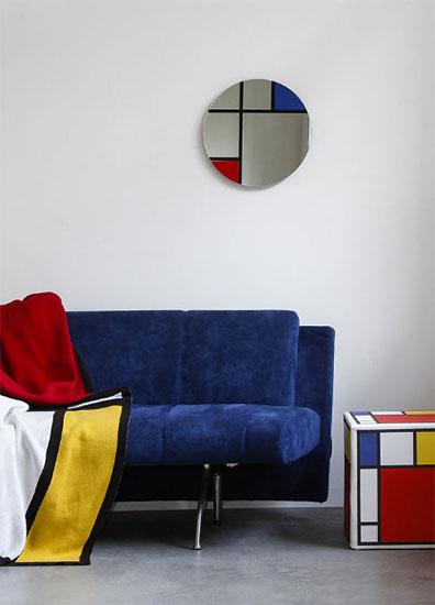 "Wandspiegel ""Mondrian"""