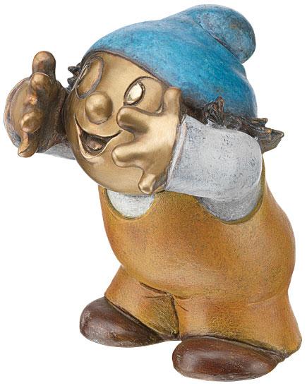 """Skulptur """"Mainzelmännchen Conni"""", Version in Bronze"""