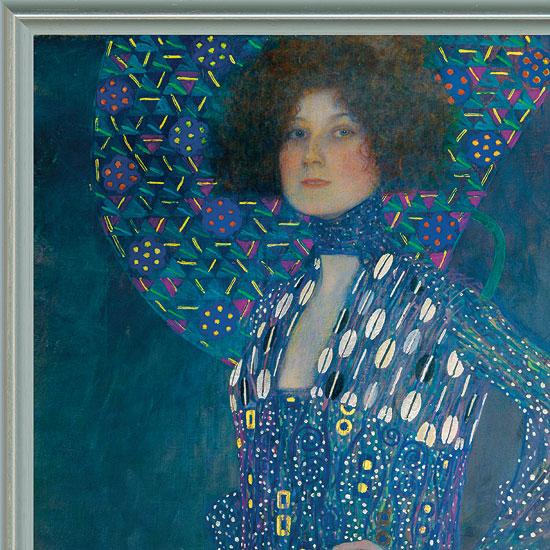 "Bild ""Bildnis der Emilie Flöge"" (1902), gerahmt"