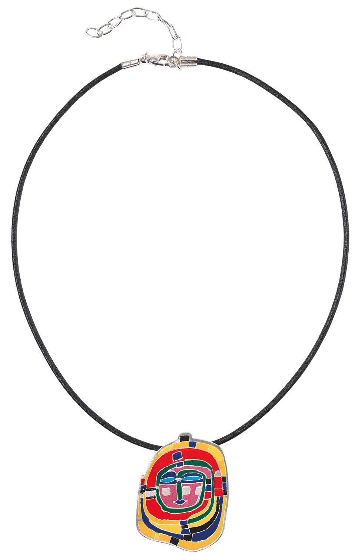 """Collier """"Spirale"""" - nach Friedensreich Hundertwasser"""