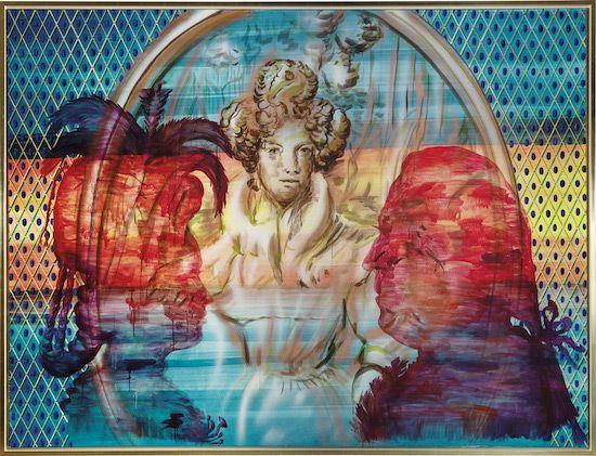 """Bild """"Tarnkappe"""" (2005) (Unikat)"""
