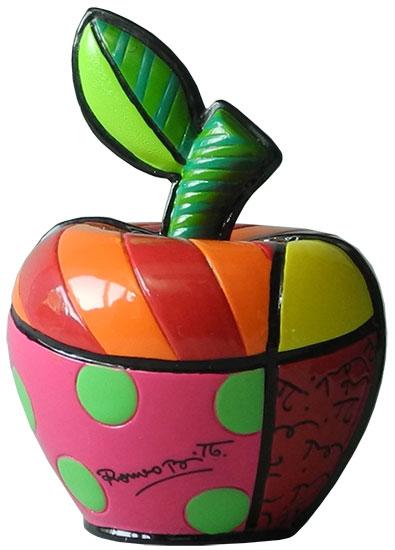 "Deko-Objekt ""Mini Apple"", Kunstguss"