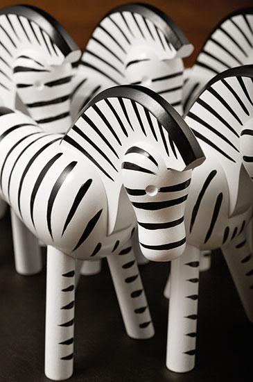 """Holzfigur """"Zebra"""""""