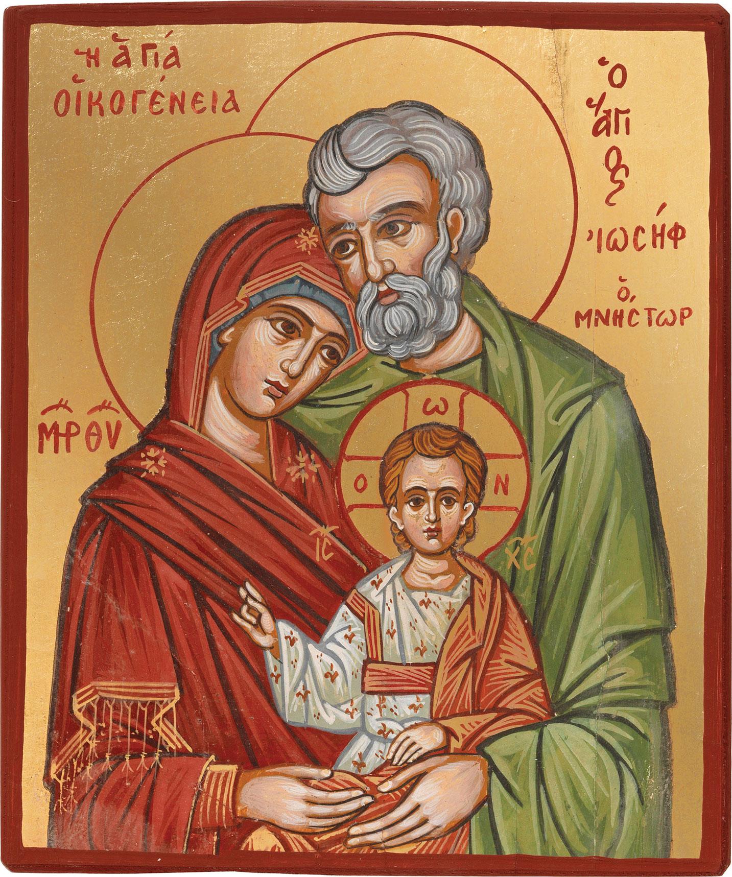 """Bildikone """"Heilige Familie"""""""