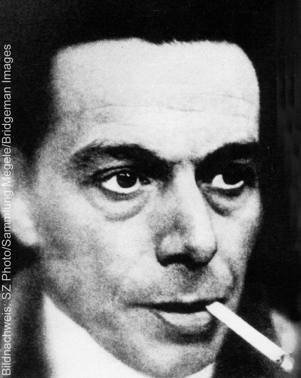 Porträt des Künstlers Ernst Ludwig Kirchner