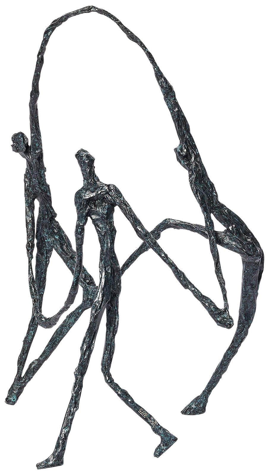 "Skulptur ""To Motivate"", Bronze"