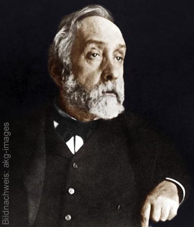 Porträt des Künstlers Edgar Degas