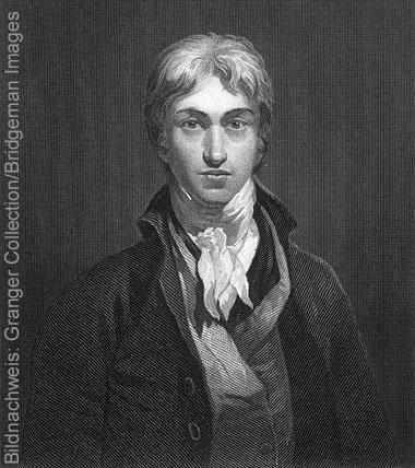 Porträt des Künstlers William Turner