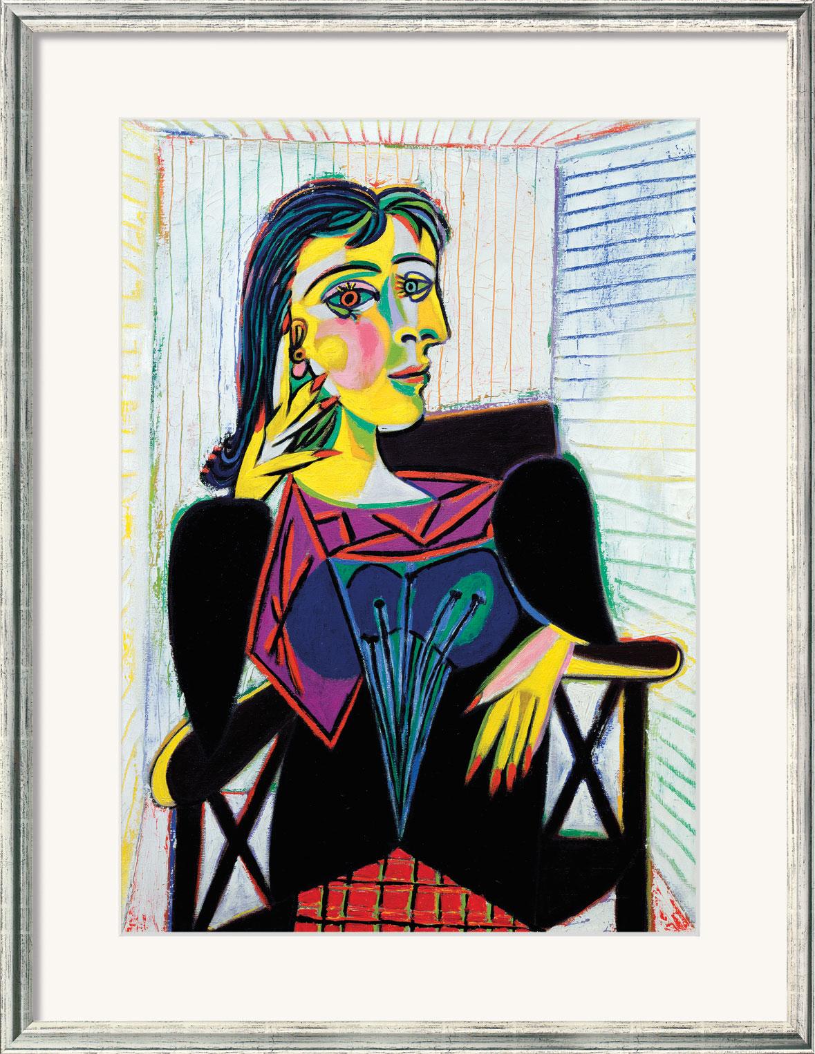 "Bild ""Dora Maar"" (1937), gerahmt"