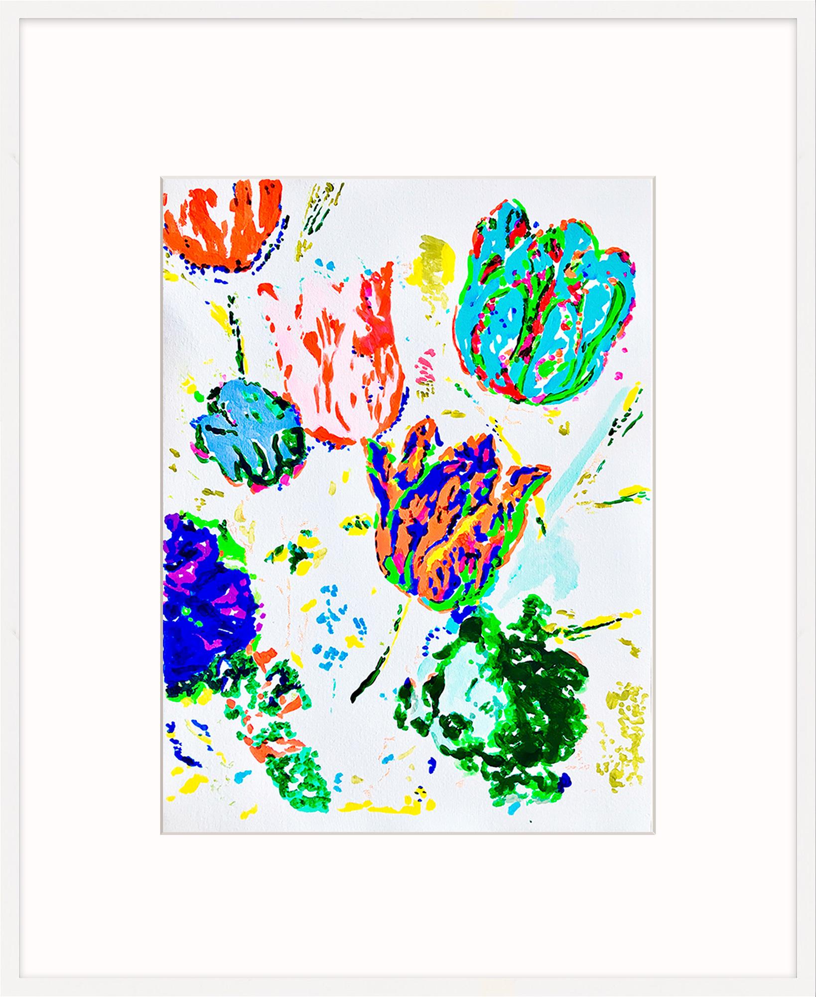 "Bild ""Paperwork Two 03.20"" (2020) (Unikat)"