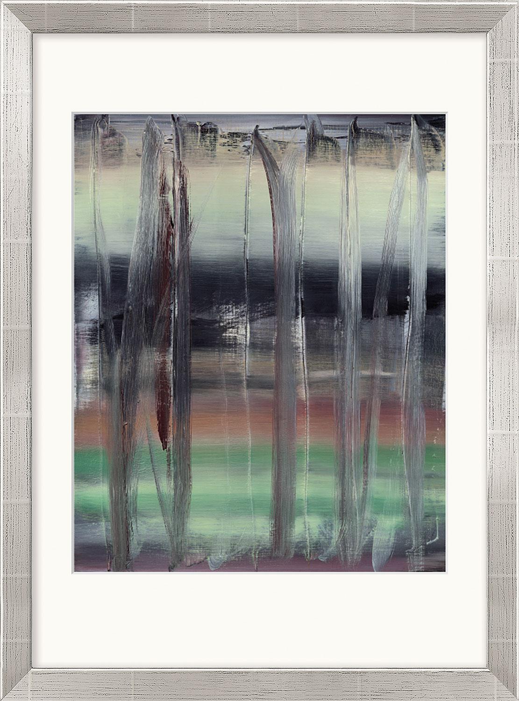 """Bild """"Abstraktes Bild"""" (1992), gerahmt"""