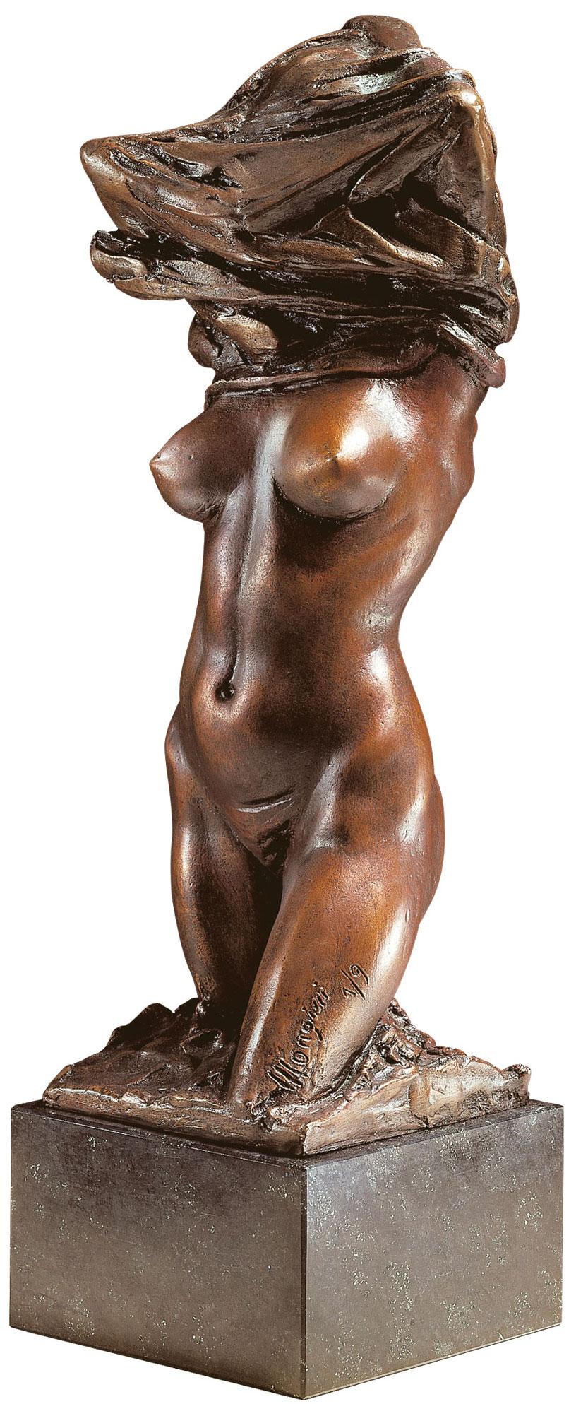 """Skulptur """"Seduzione - Die Verführung"""", Bronze"""