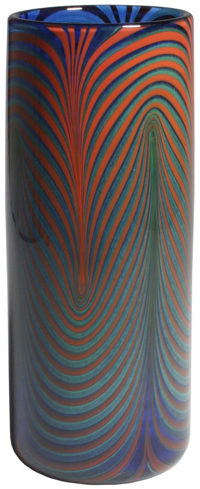 "Glasvase ""Waves of Colour"""