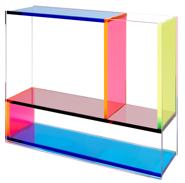 """Vase """"Neon Mondrian"""" - MoMA Kollektion"""