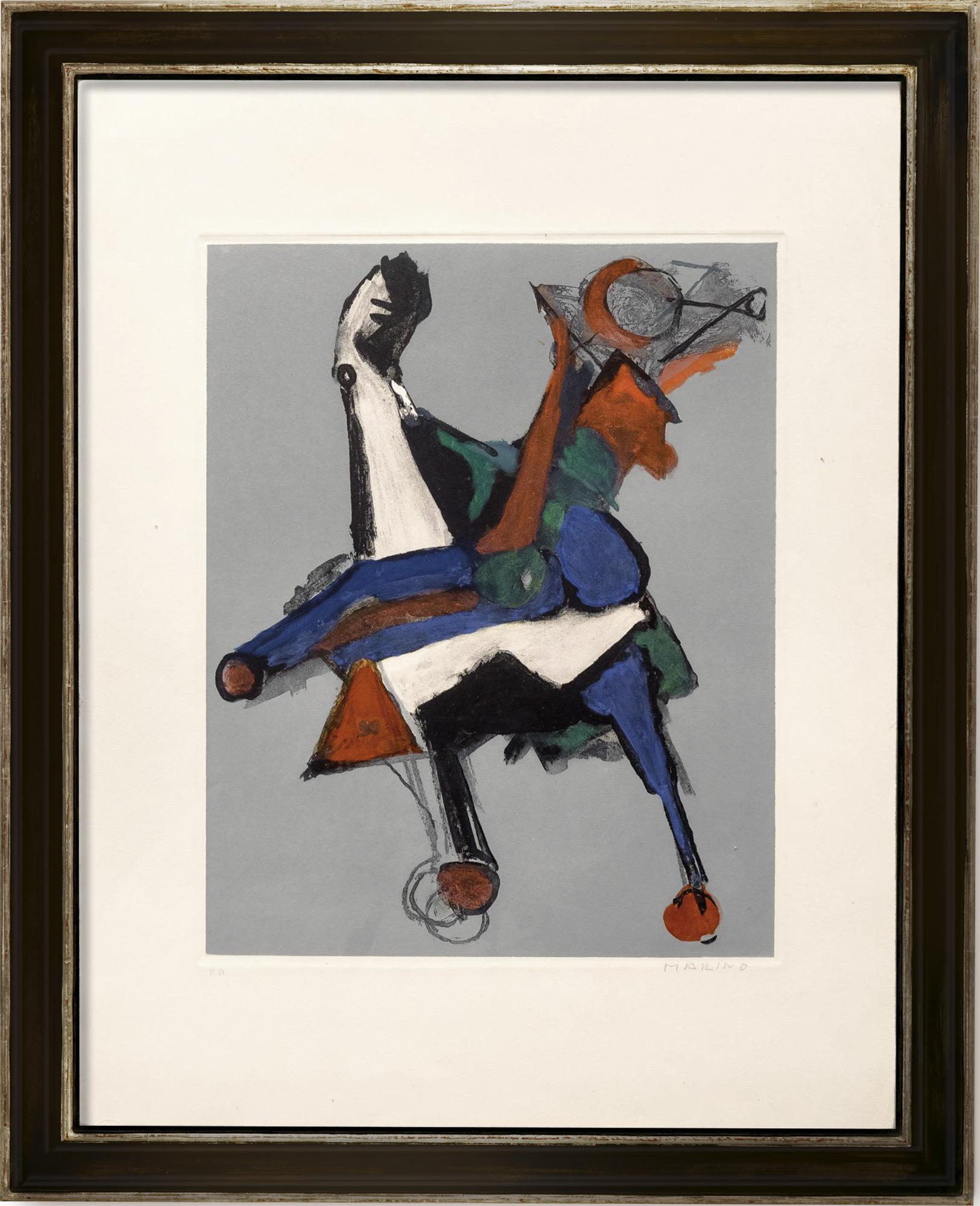 """Bild """"Marino from Shakespeare I, Plate II"""" (1977"""