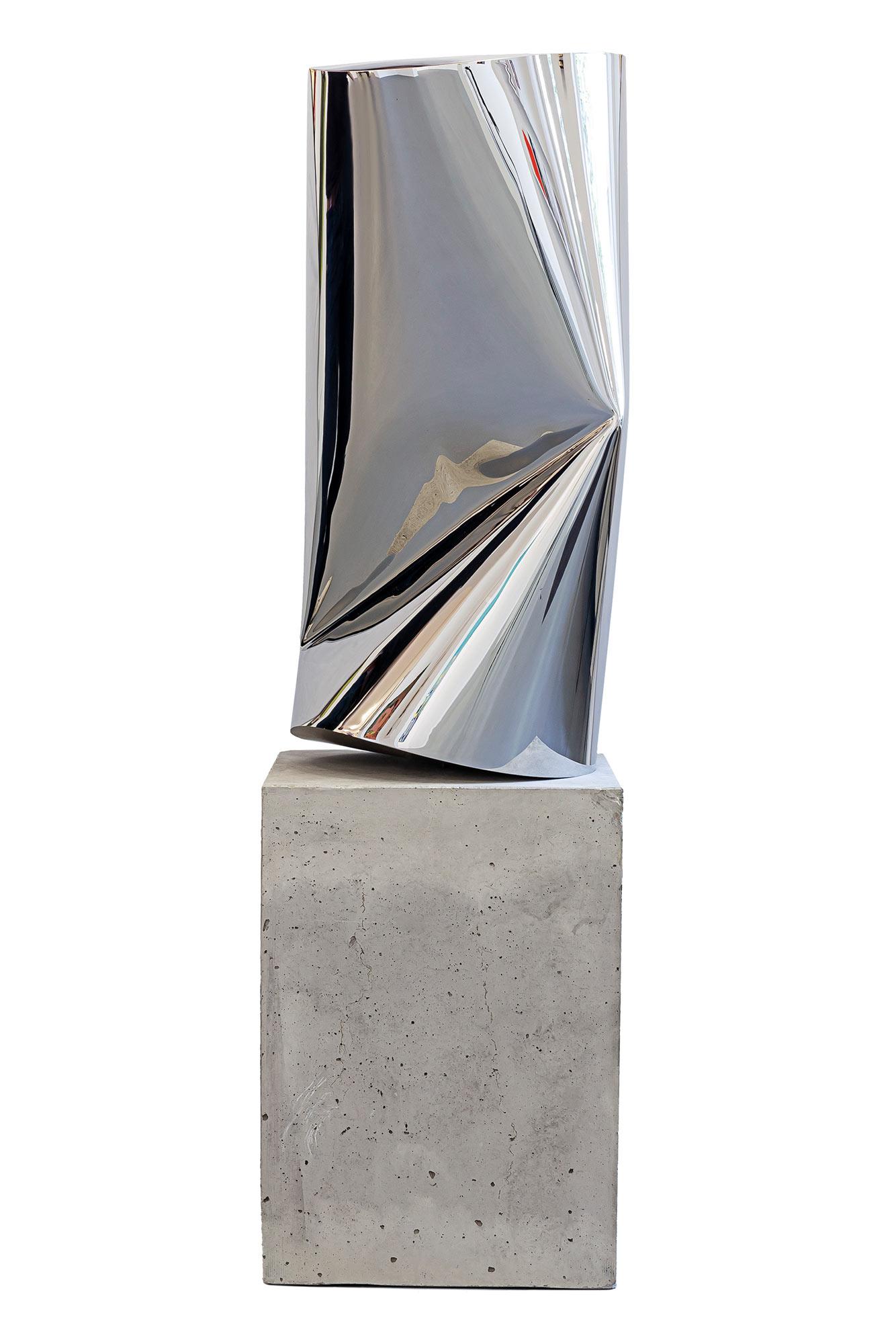 "Skulptur ""LITTLE CAN"" (2020) (Unikat), Stahl"