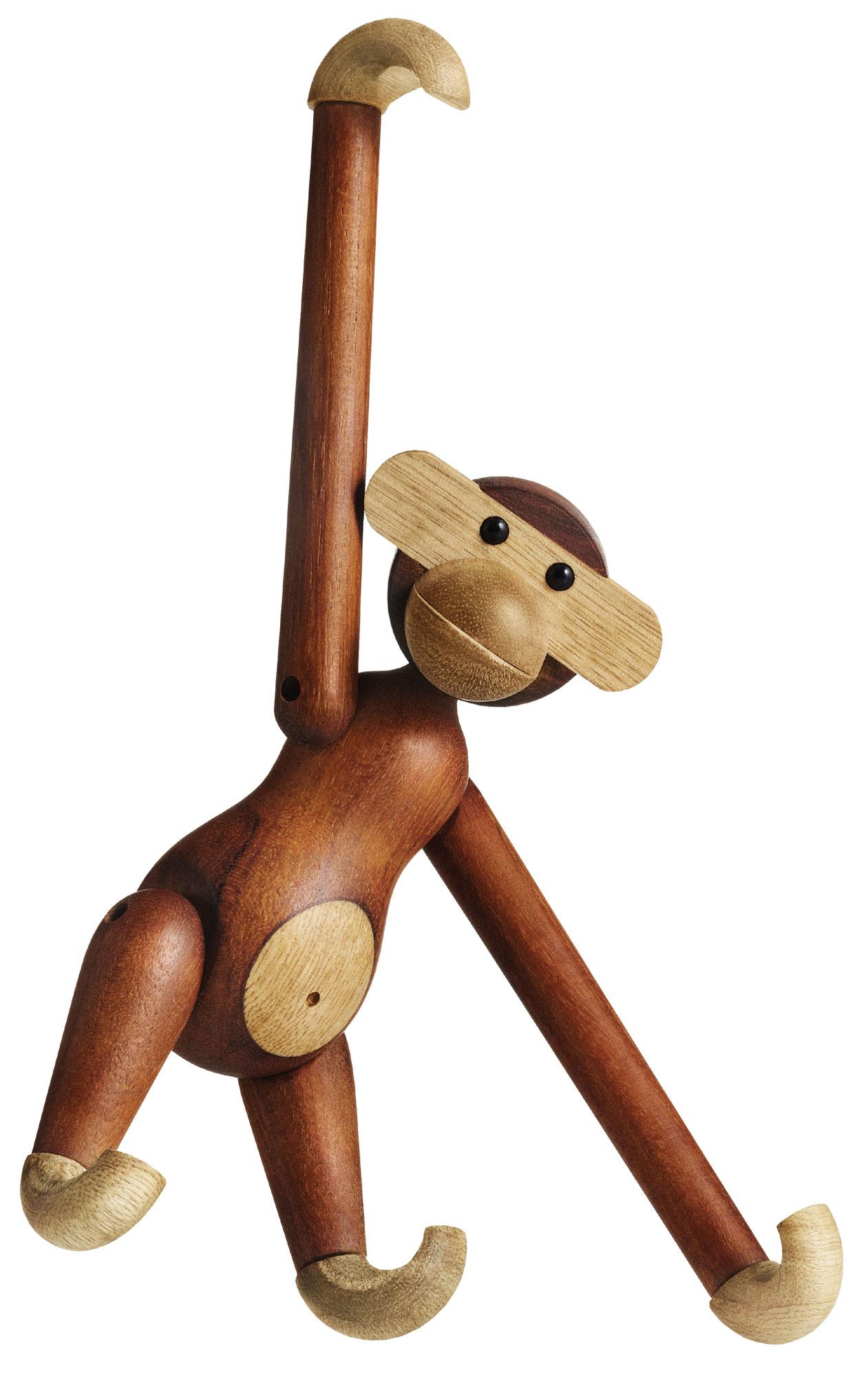 "Holzfigur ""Affe"" (mittelgroß, Höhe 28 cm)"