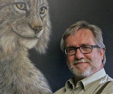 Porträt des Künstlers Bernd Hanrath