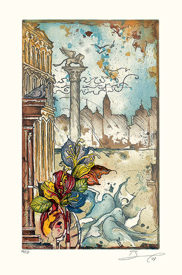 """Bild """"Venedig I"""" (2007), ungerahmt"""