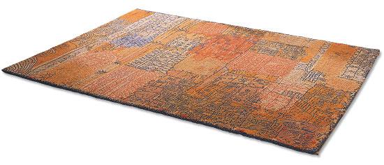 """Künstlerteppich """"Florentinisches Villenviertel"""", 1926 (183 x 275 cm)"""
