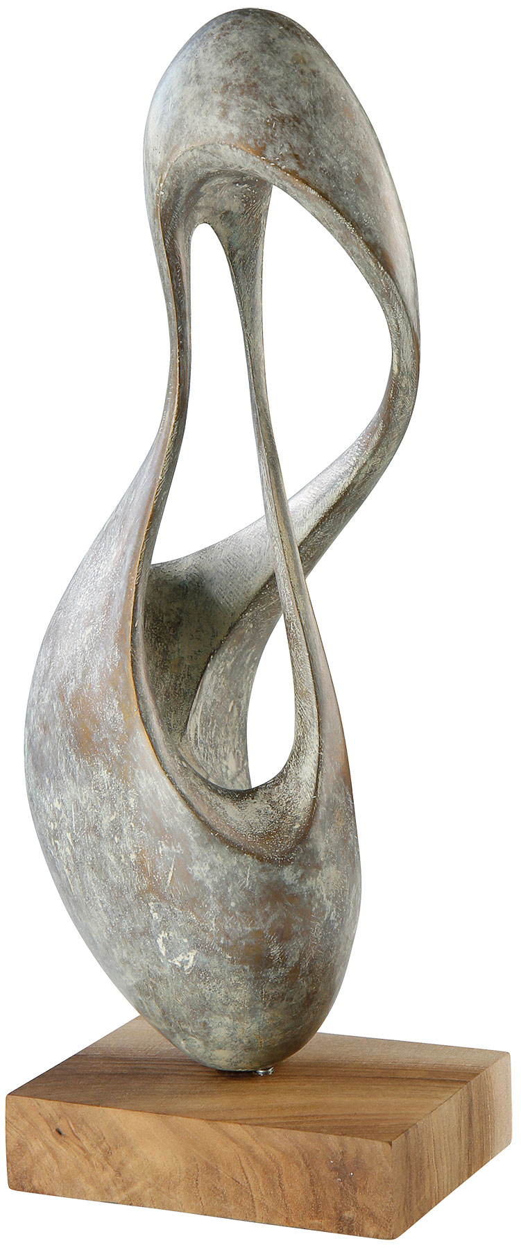 "Skulptur ""Atmung 7"" (2015/16), Bronze"