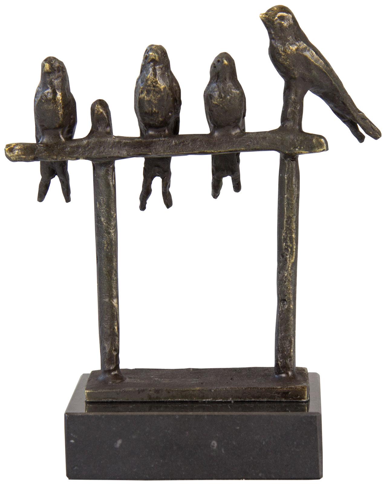 "Skulptur ""Zaun-Könige"""