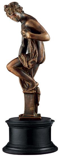 """Skulptur """"Badende Venus"""", Metallguss"""