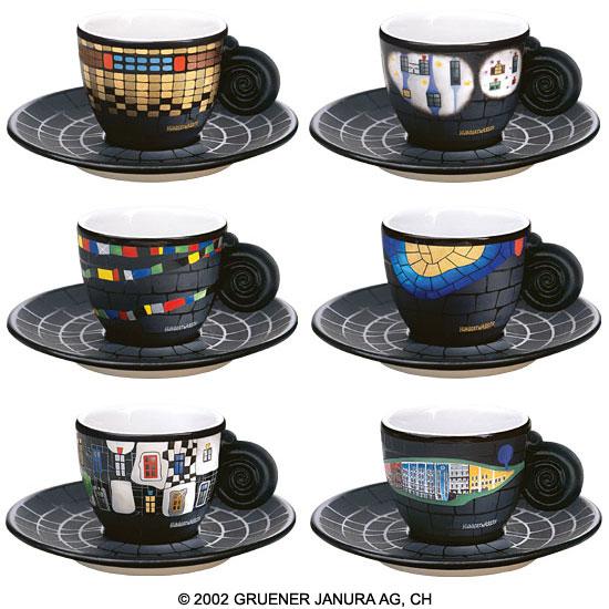 Die Espressotassen-Kollektion
