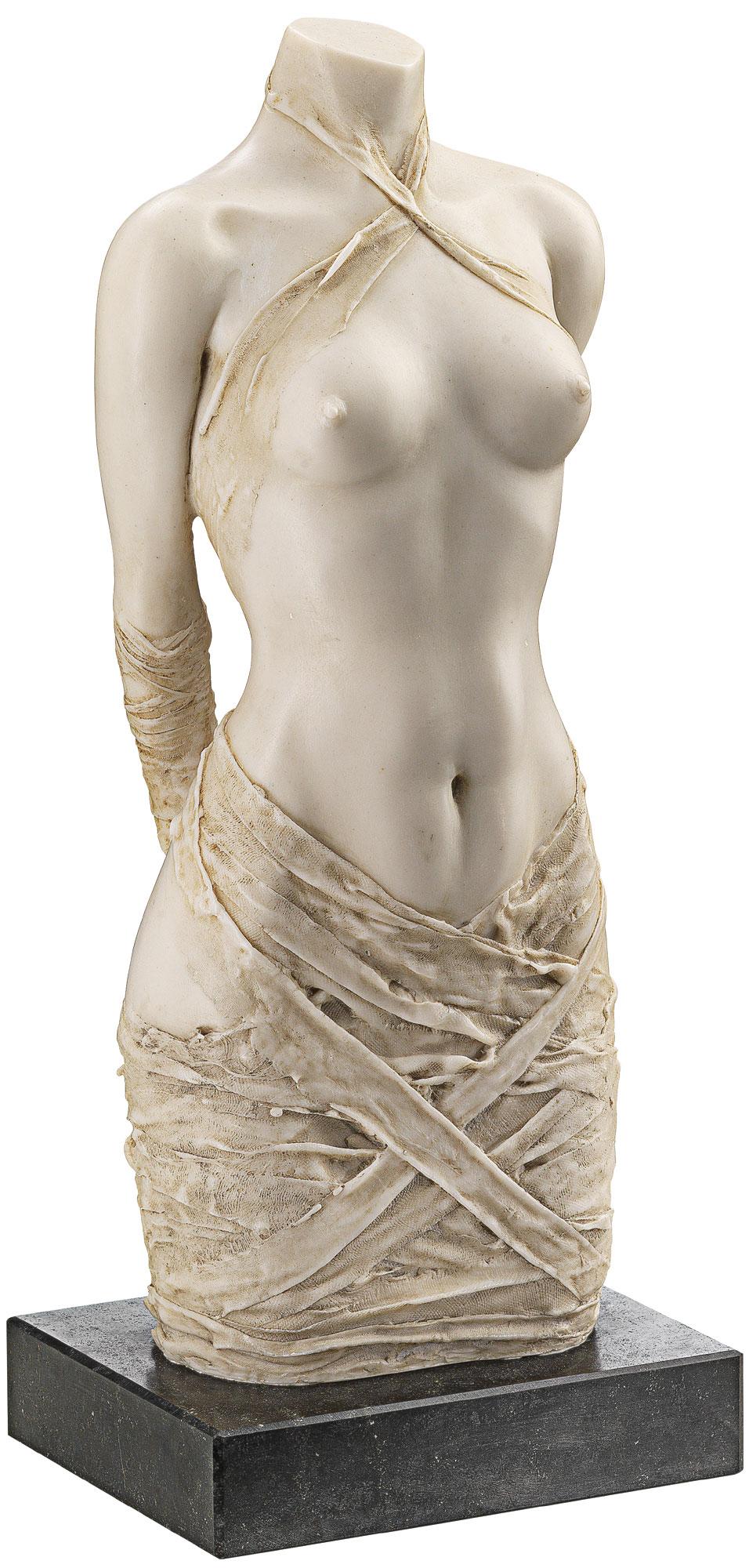 """Skulptur """"Draperie II"""", Version in Steinguss"""