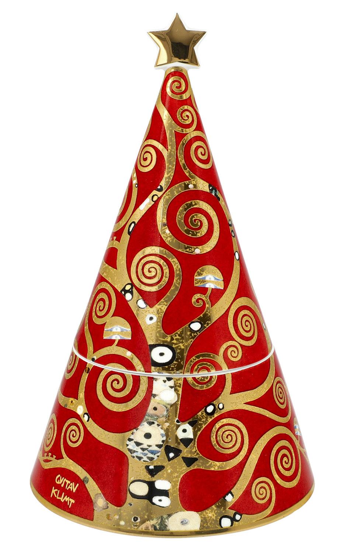 """Keksdose """"Der Lebensbaum"""", Porzellan mit Golddekor"""
