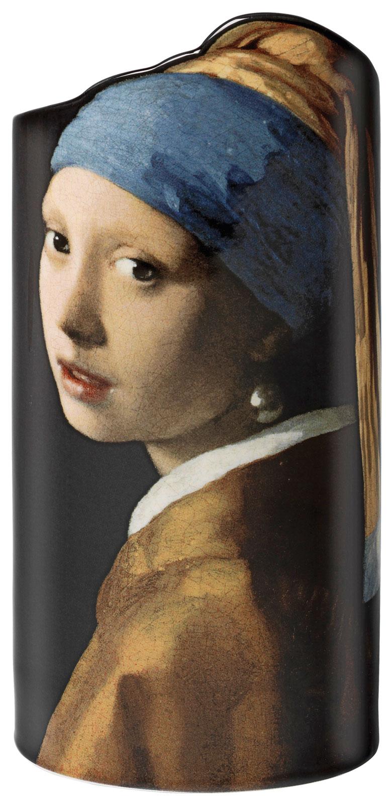 """Porzellanvase """"Das Mädchen mit dem Perlenohrring"""" (1665)"""