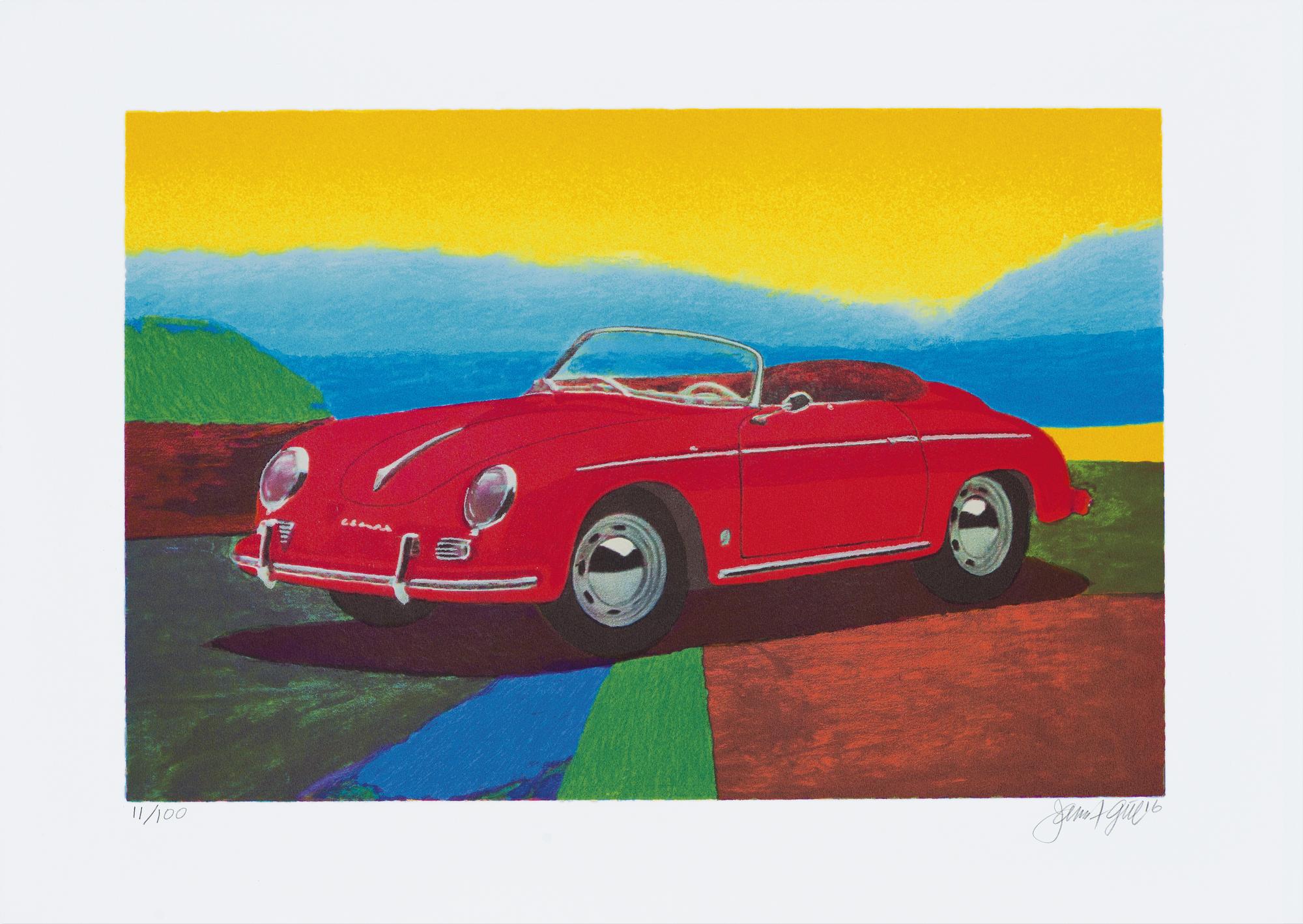 """Bild """"Porsche 356 Speedster"""" (2016)"""