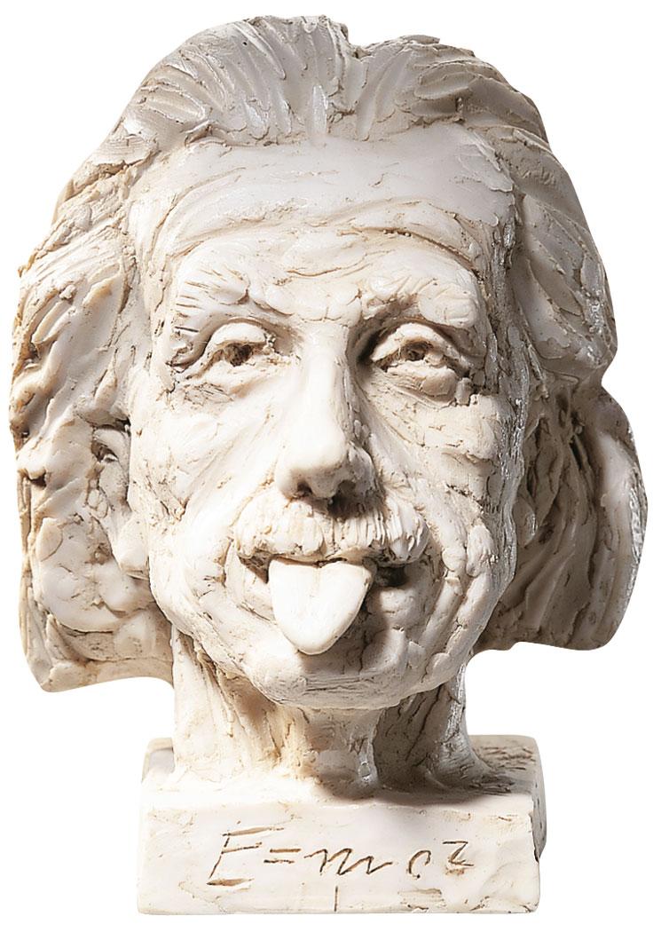 """""""Einstein-Kopf"""" (klein), Kunstguss"""