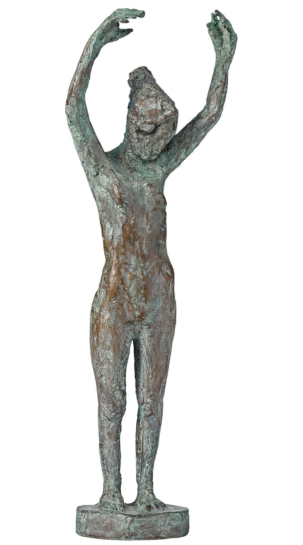 """Skulptur """"Tänzerin"""" (2019), Bronze"""