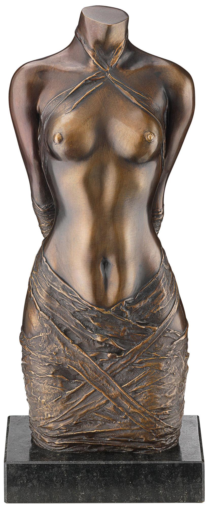 """Skulptur """"Draperie II"""", Version in Bronze"""