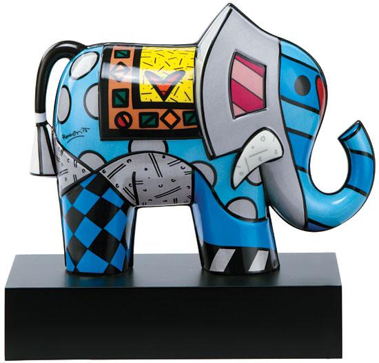 "Porzellanskulptur ""Great India II"""