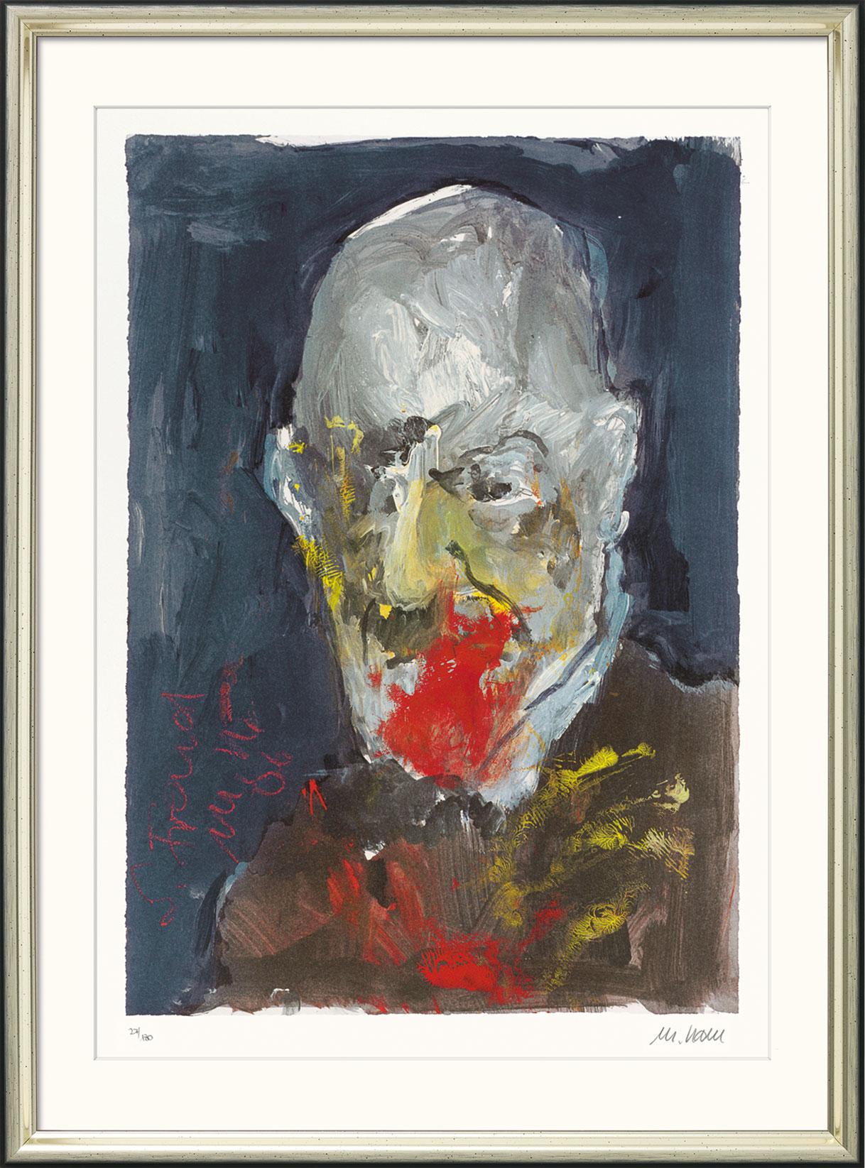 Armin Mueller-Stahl: Bild 'Sigmund Freud' (2006), gerahmt